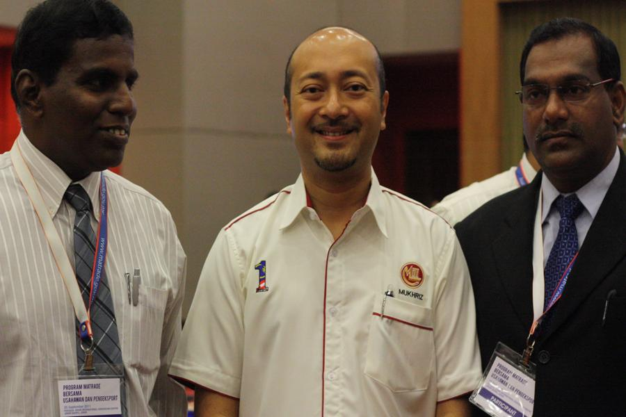 With Yg Berhormat Datuk Dr. Mukhriz Mahathir, Deputy Minister, Ministry of International Trade and Industry, Malaysia
